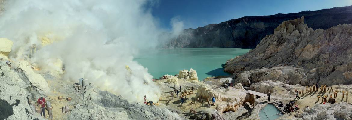 East Java Mount Ijen Trekking